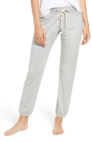 Dreamy Fleece Jogger Pants, Main, color, GREY HEATHER