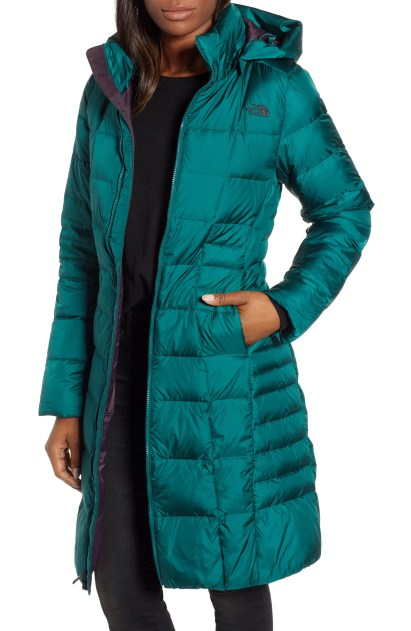 Metropolis II Hooded Water Resistant Down Parka,                         Main,                         color, BOTANICAL GARDEN GREEN