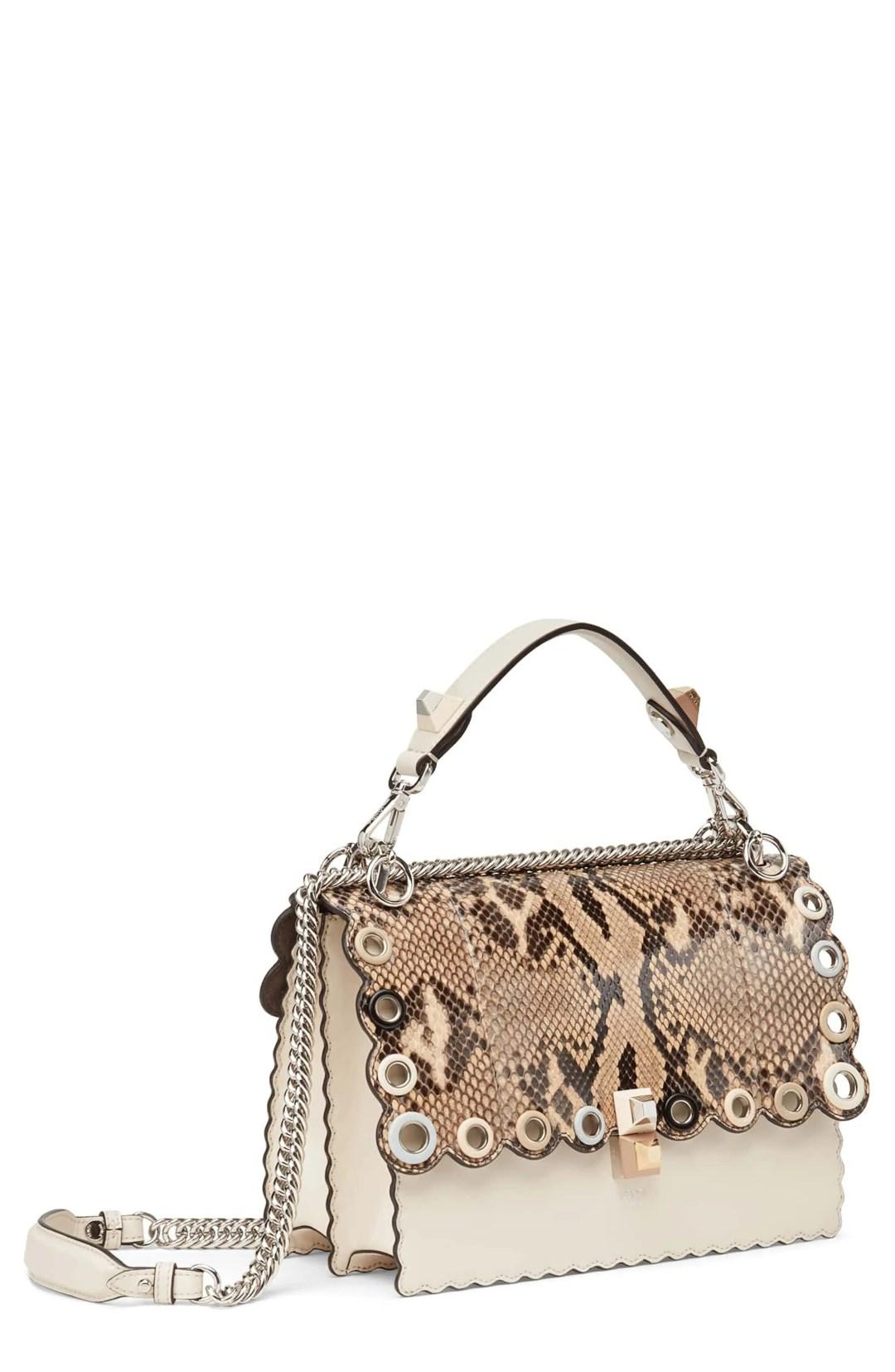a2e6392efa74 Fendi Small Kan I Genuine Python   Calfskin Shoulder Bag – – NORDSTROM.com  –  3