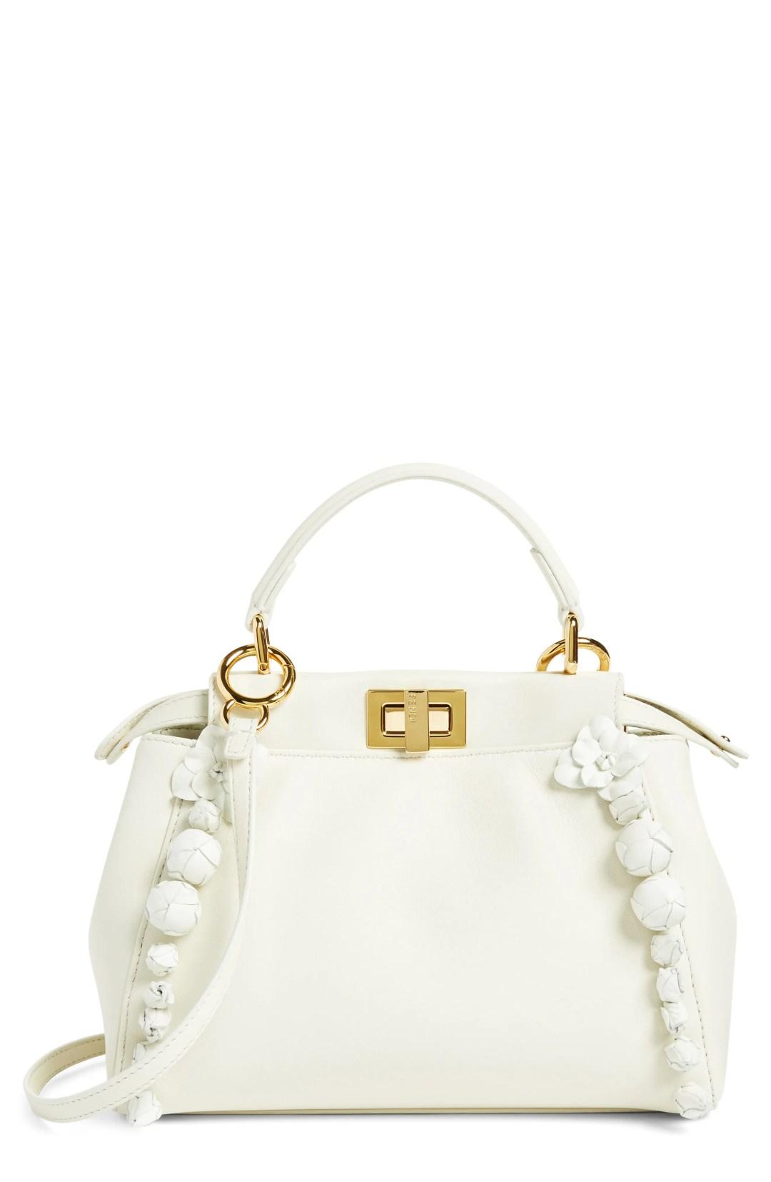 4caa3d693 Fendi Mini Peekaboo Floral Leather Satchel – – NORDSTROM.com – $4,250.00 ...