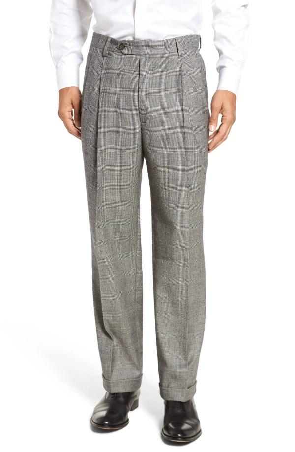 1940s Trousers Mens Wide Leg Pants