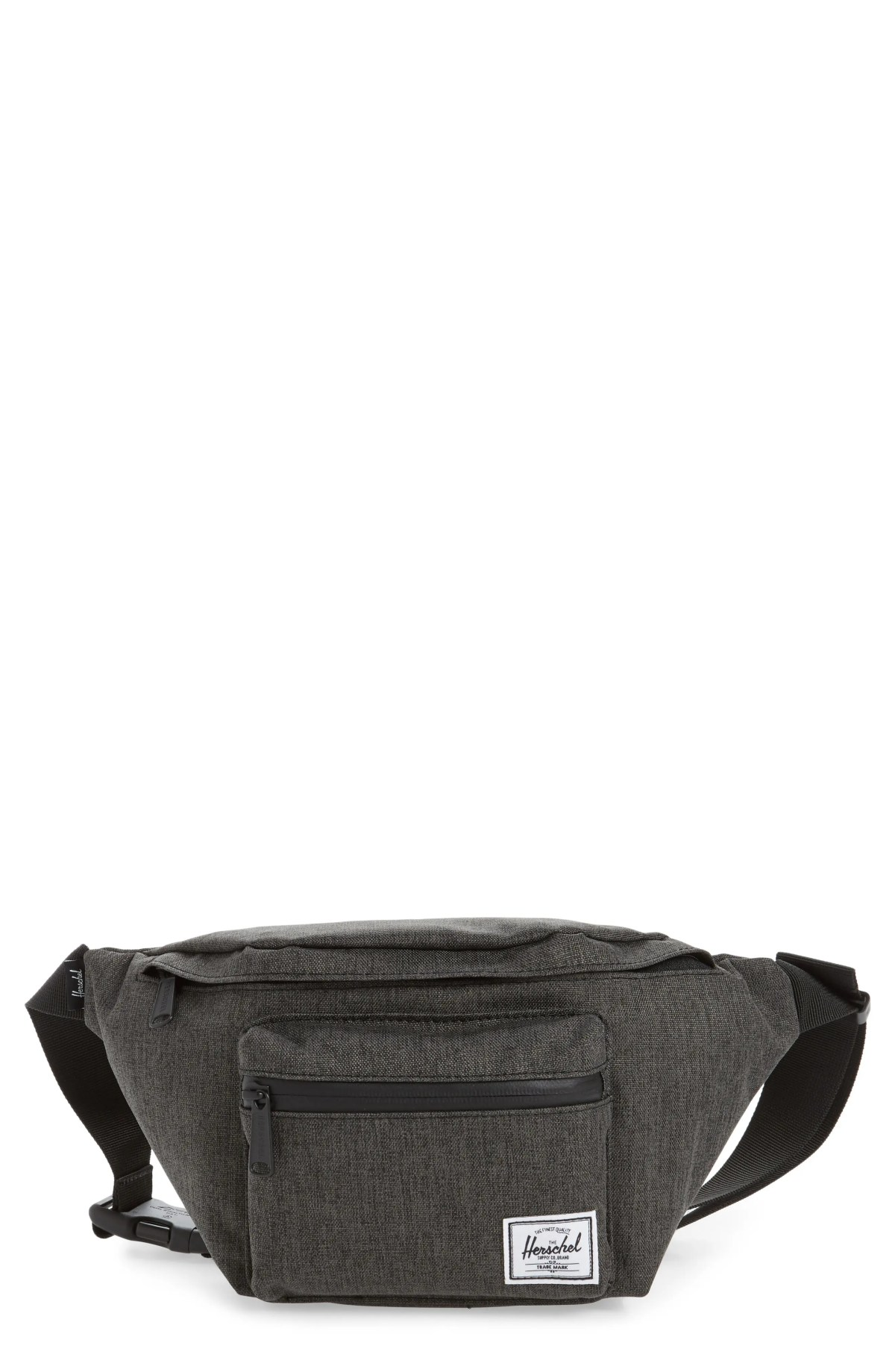 HERSCHEL SUPPLY CO. Seventeen Hip Pack, Main, color, BLACK CROSSHATCH