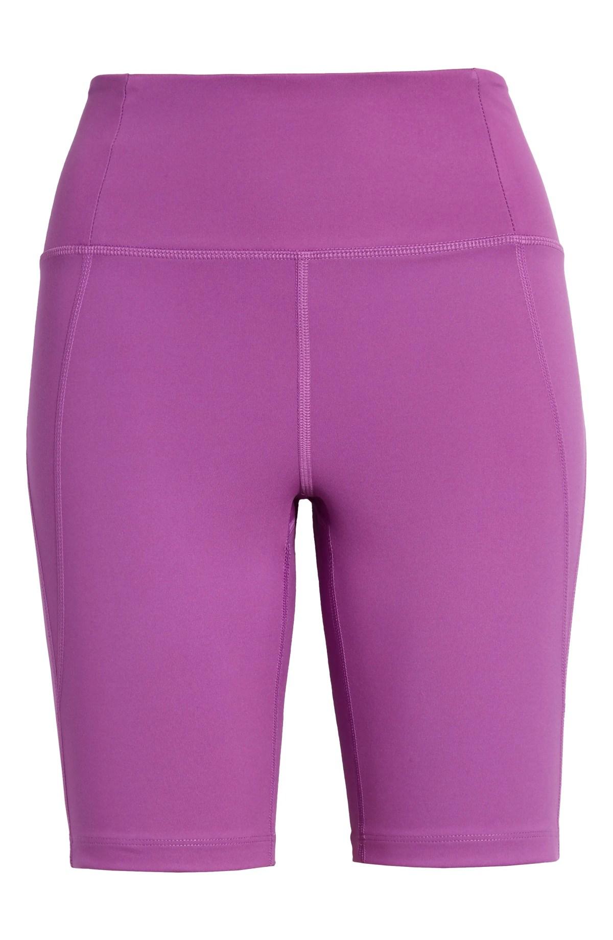GIRLFRIEND COLLECTIVE High Waist Bike Shorts, Main, color, WILDFLOWER
