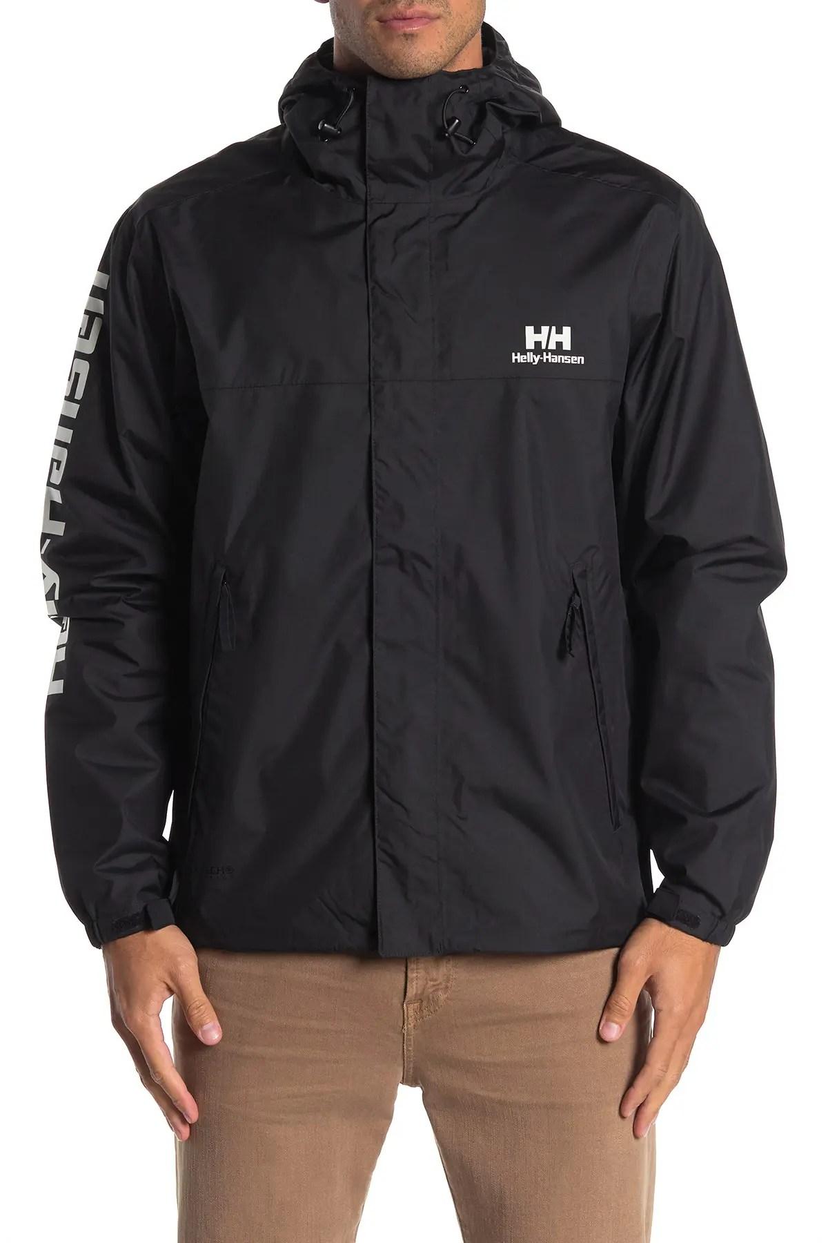 helly hansen yu ervik waterproof zip jacket nordstrom rack