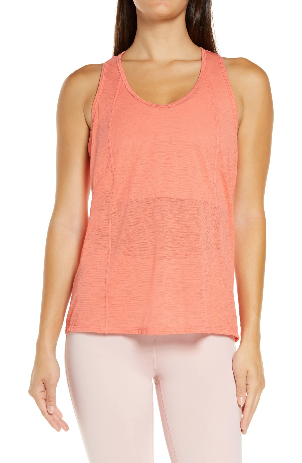 ZELLA Swing It Breezy Tank, Main, color, CORAL ROSE