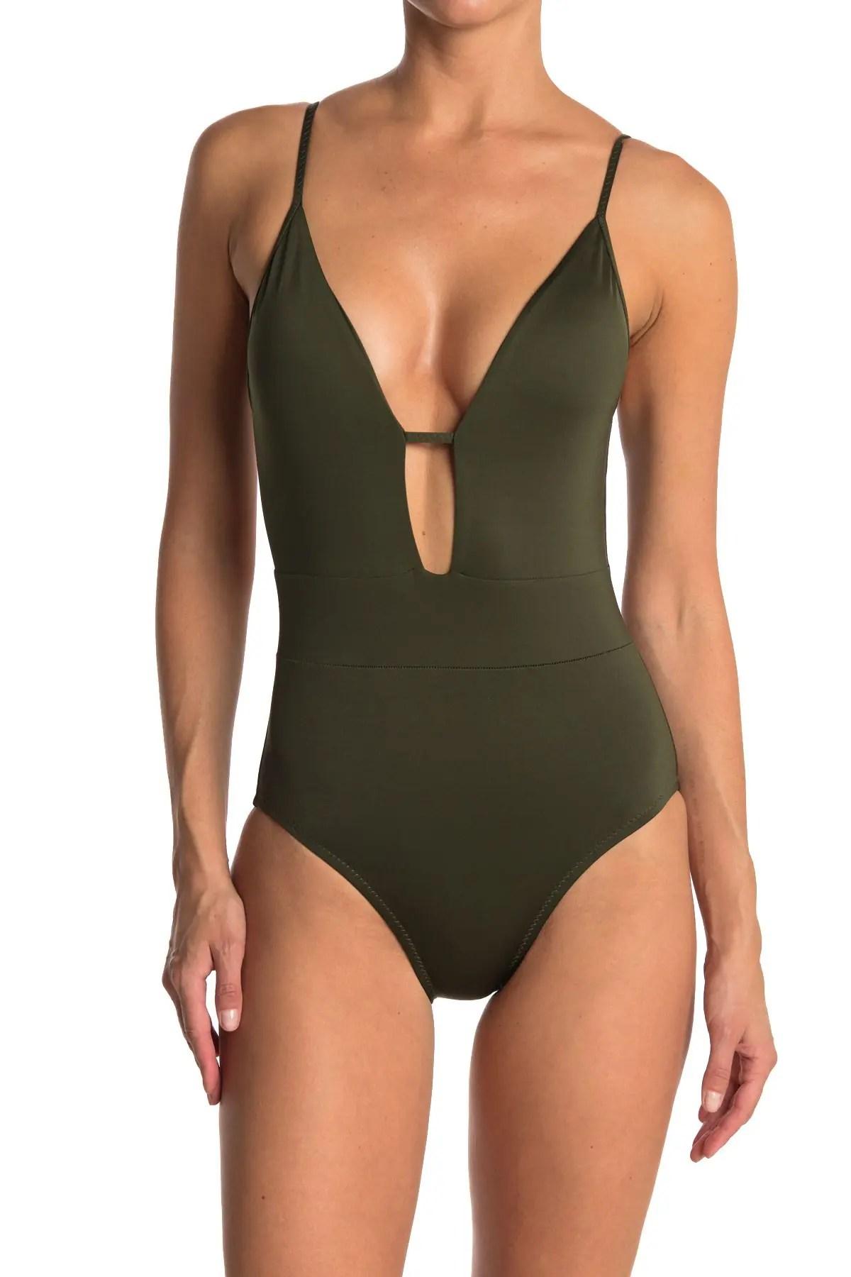 becca tie back one piece swimsuit