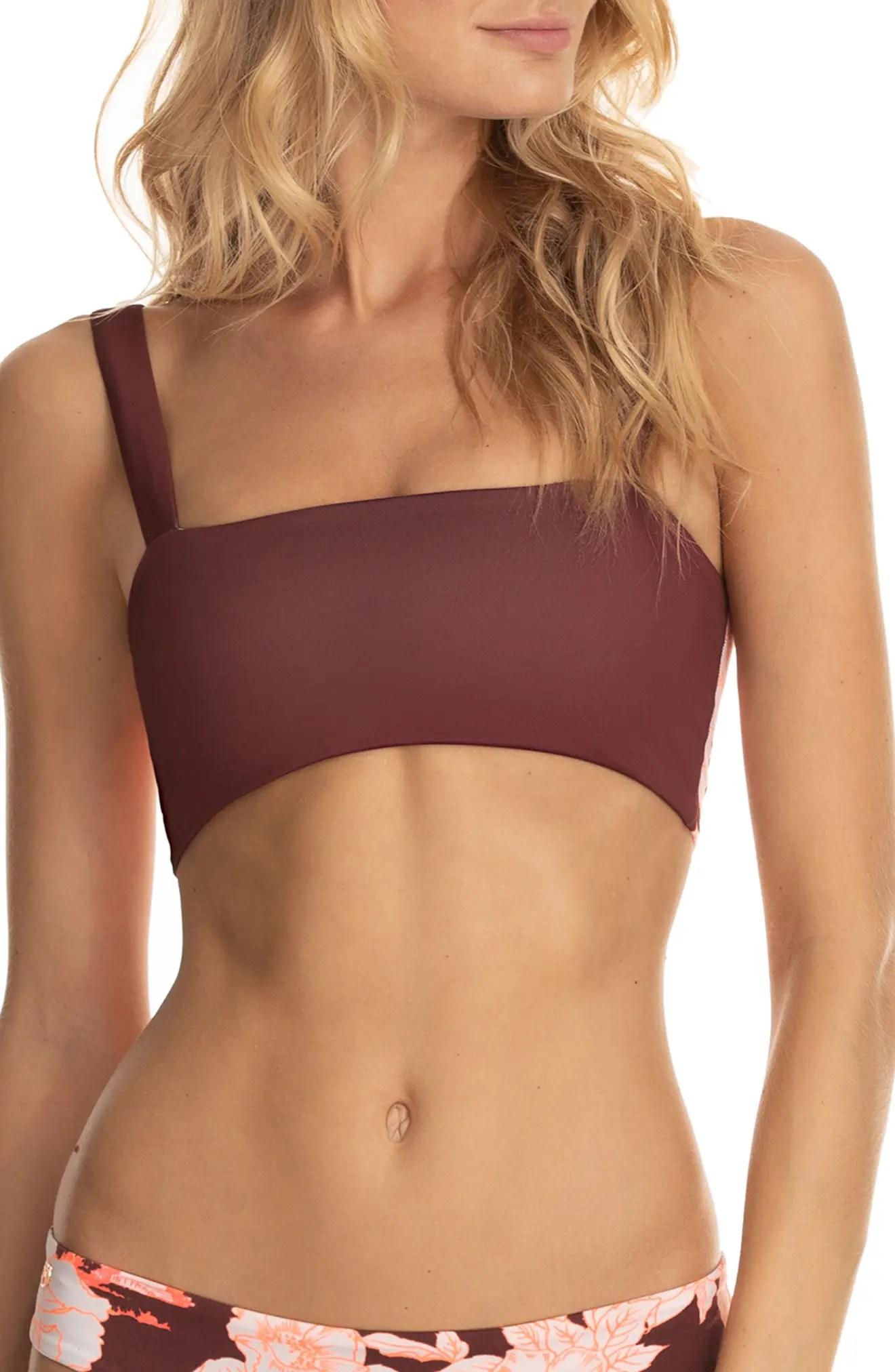 maaji bailey dazzling reversible bikini top nordstrom rack