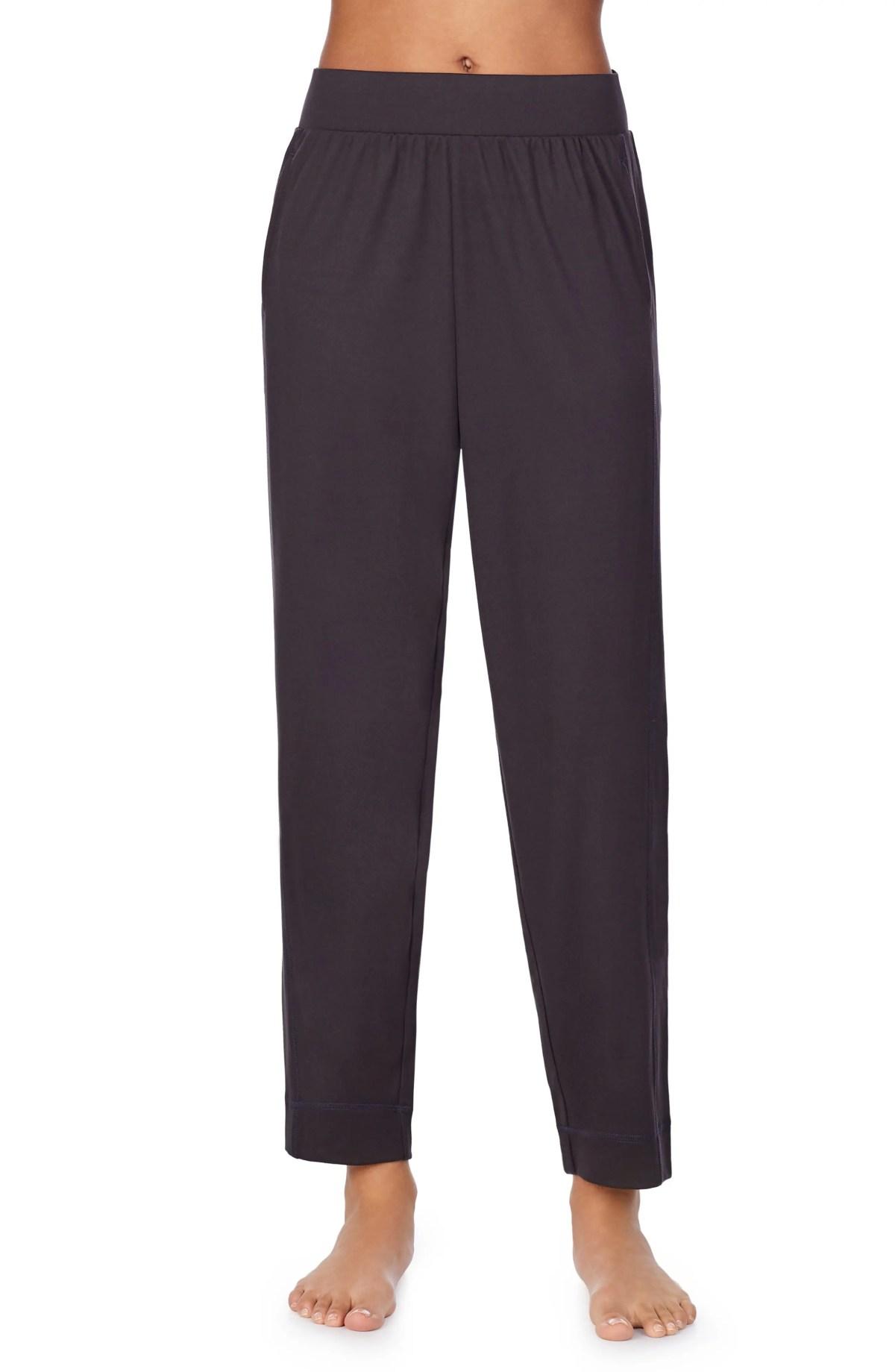 Z WELL Tapered Sleep Pants, Main, color, DARK GREY