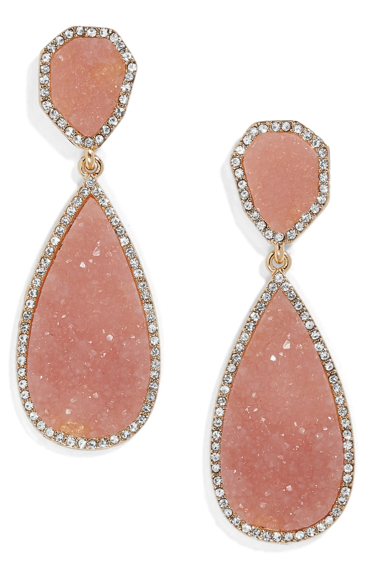 BAUBLEBAR Moonlight Drop Earrings, Main, color, PINK