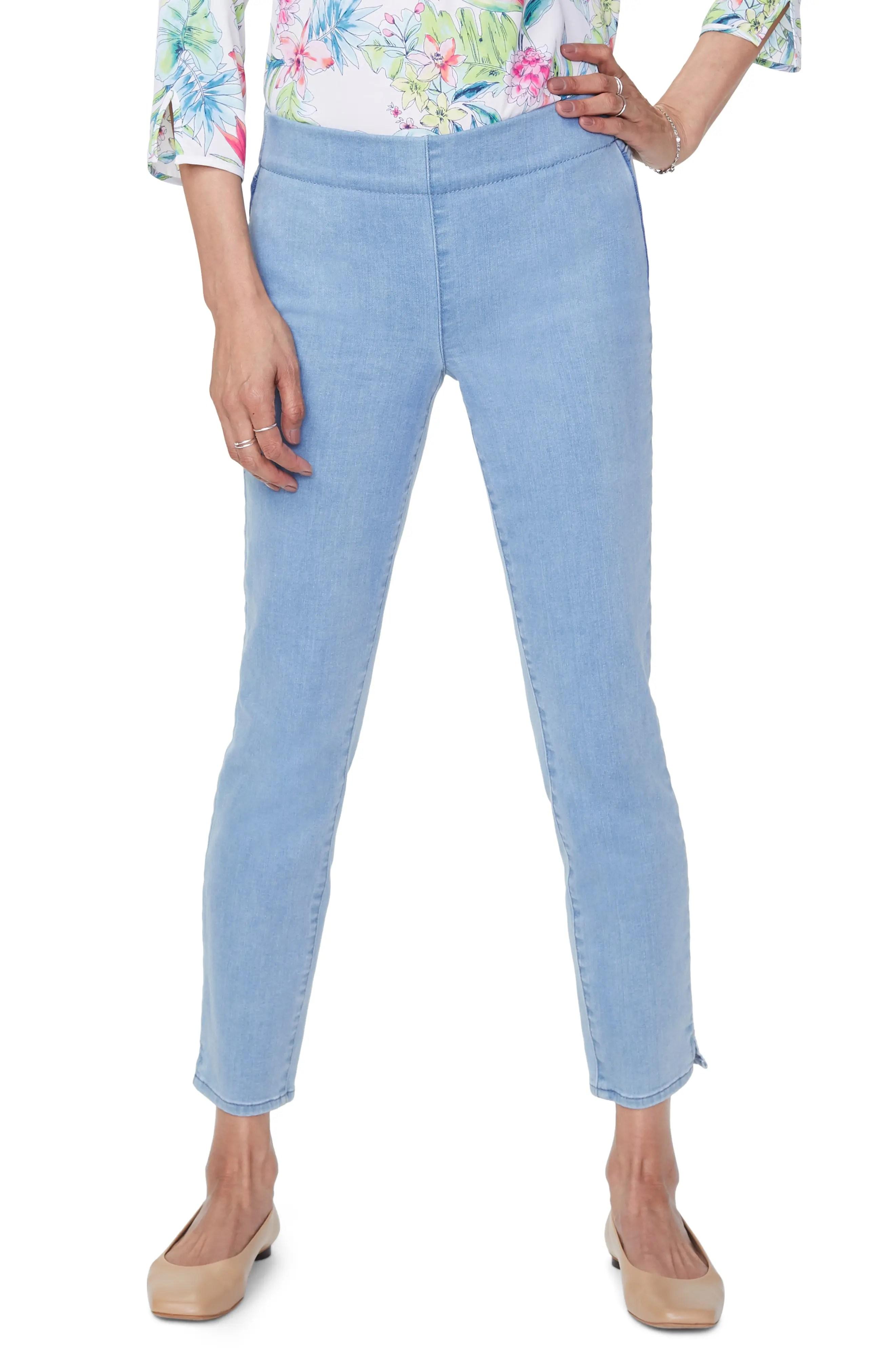 nydj alina pull on ankle skinny jeans nordstrom rack