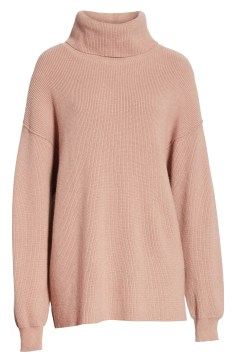 FREE PEOPLE Softly Structured Knit Tunic, Alternate, color, MAUVE