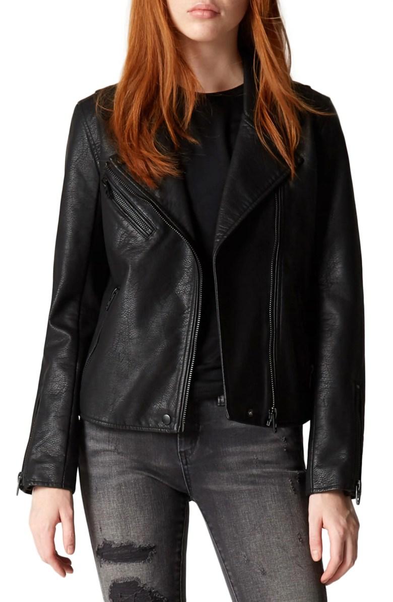 BLANKNYC Faux Leather Moto Jacket Nordstrom