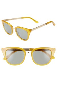 Playlist 50mm Sunglasses, Main, color, MYSTIC YELLOW