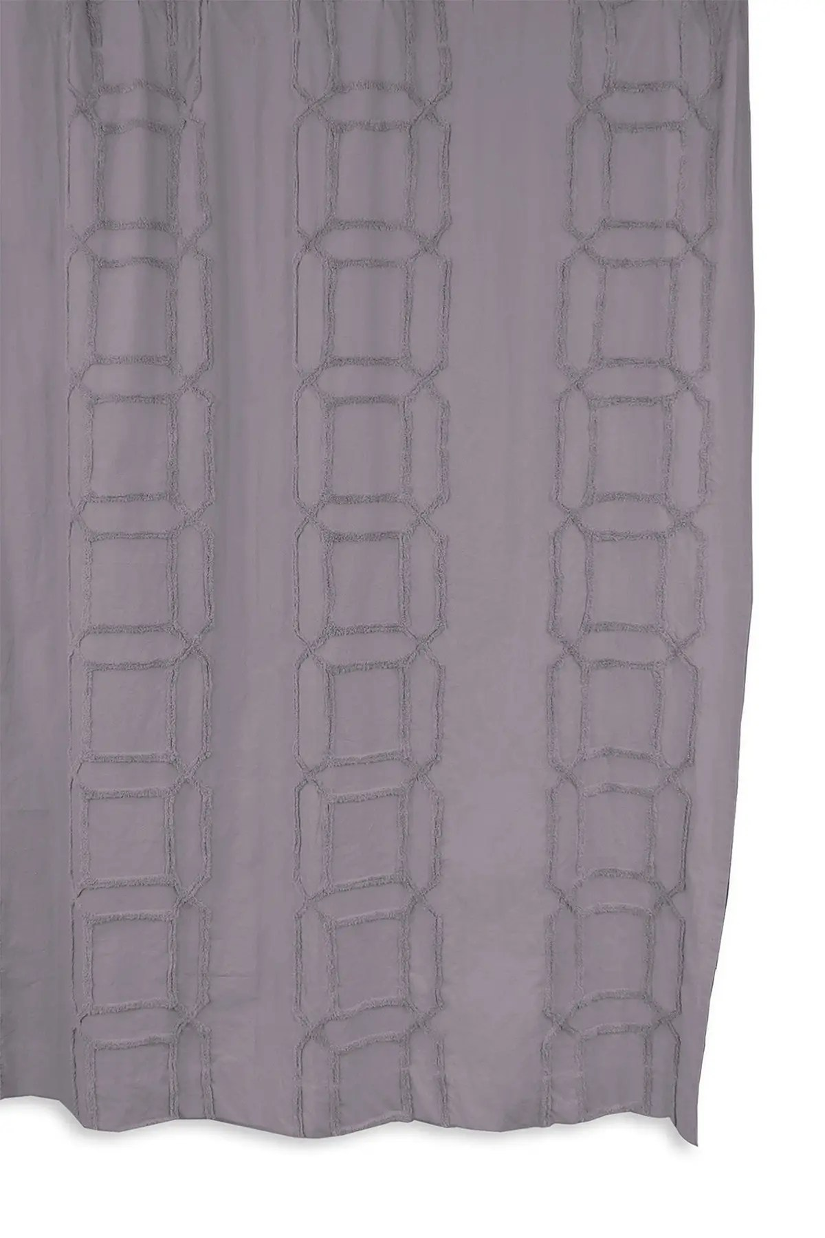 bcbg clip cube tufted shower curtain lilac lilac nordstrom rack