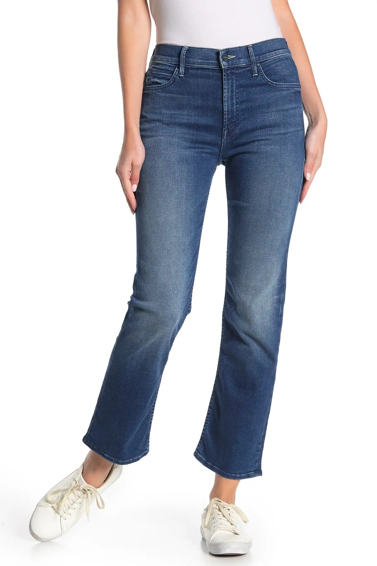 mother the dutchie straight ankle jeans nordstrom rack