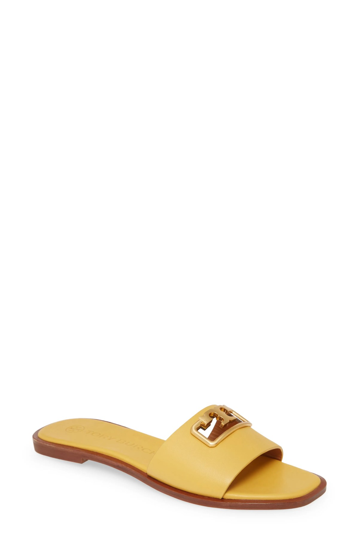 TORY BURCH Selby Slide Sandal, Main, color, GOLDFINCH