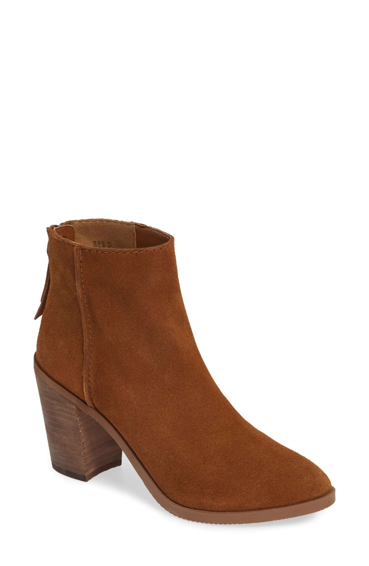 BP. Heath Bootie, Main, color, COGNAC SUEDE