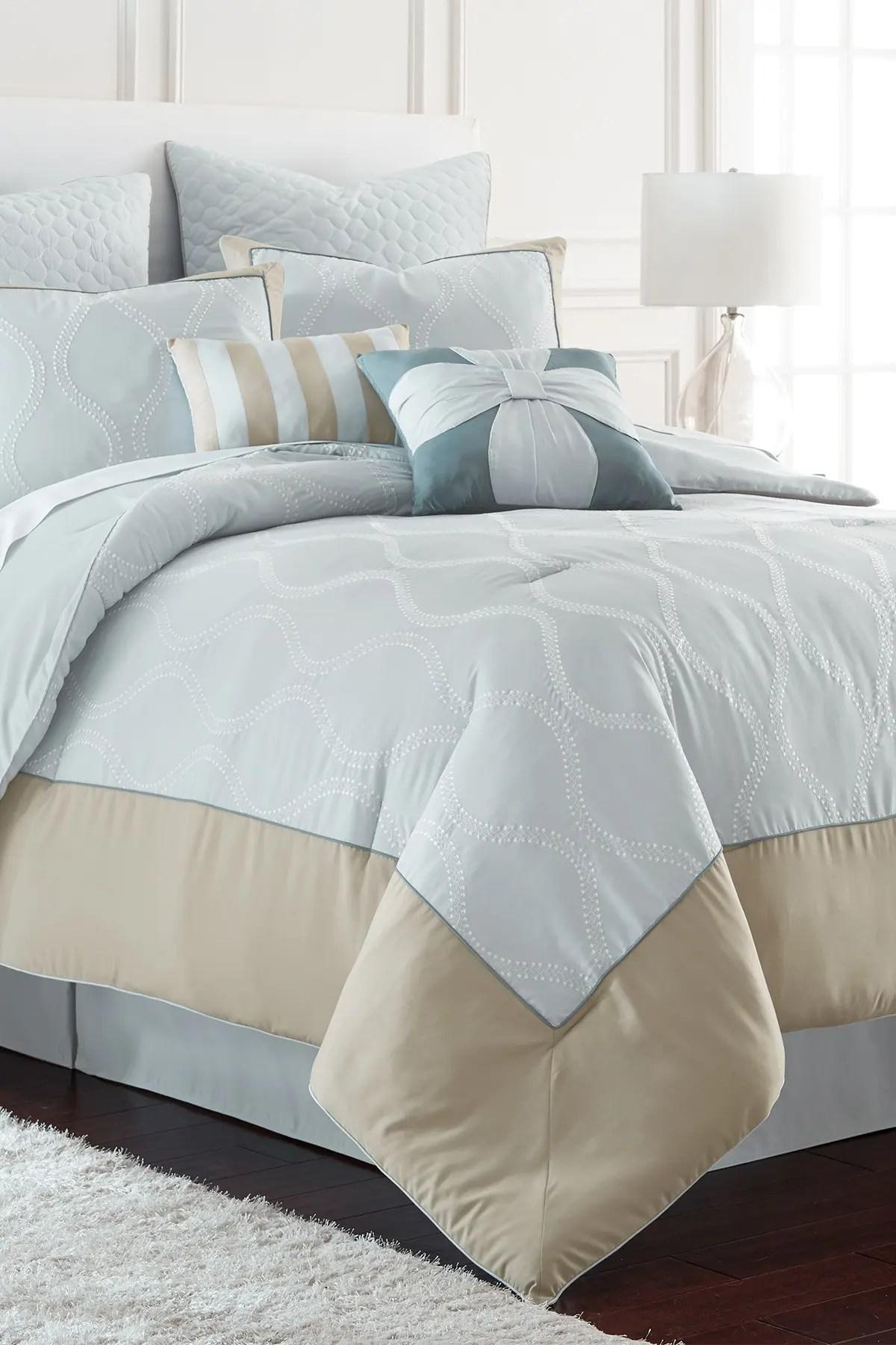 modern threads queen tropez comforter set blue nordstrom rack
