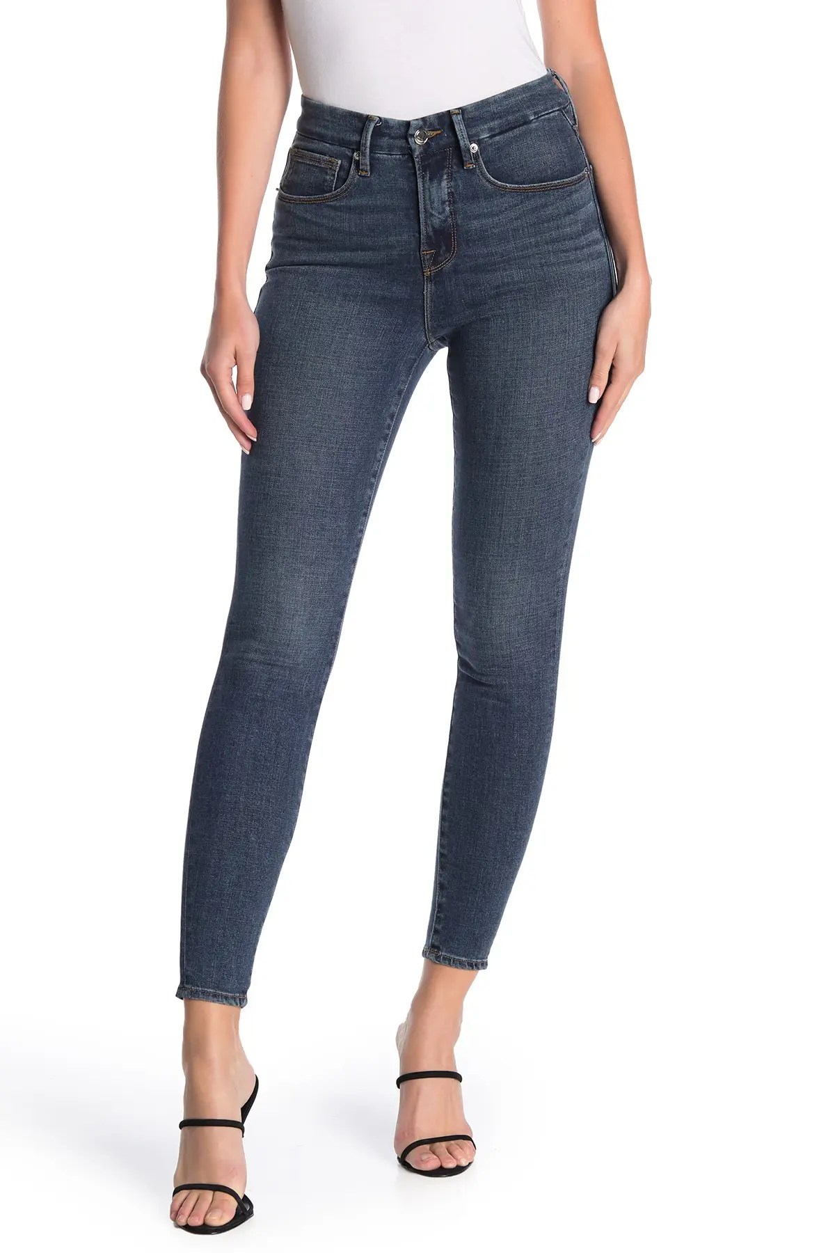 good legs cropped skinny jeans