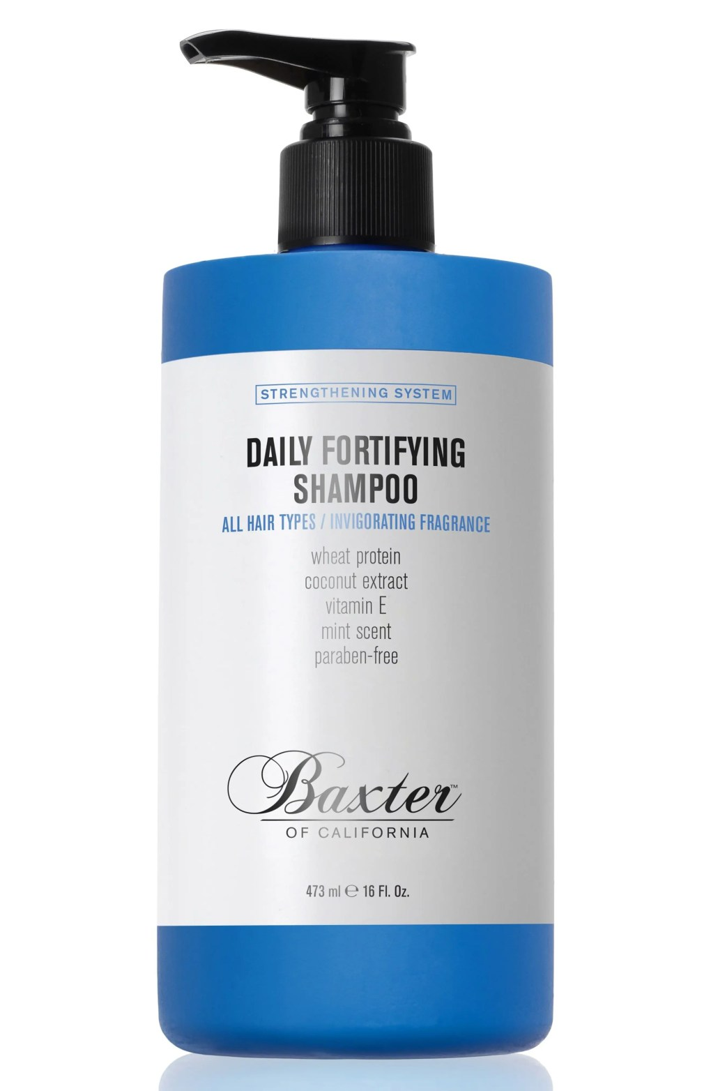 Baxter Of California Daily Fortifying Shampoo, Size 16 oz