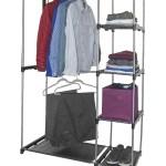 Sorbus Grey Wardrobe Closet Portable Free Standing Storage Organizer Nordstrom Rack