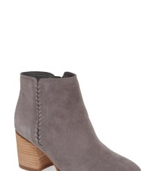 Nina Waterproof Suede Boot, Main, color, GREY SUEDE