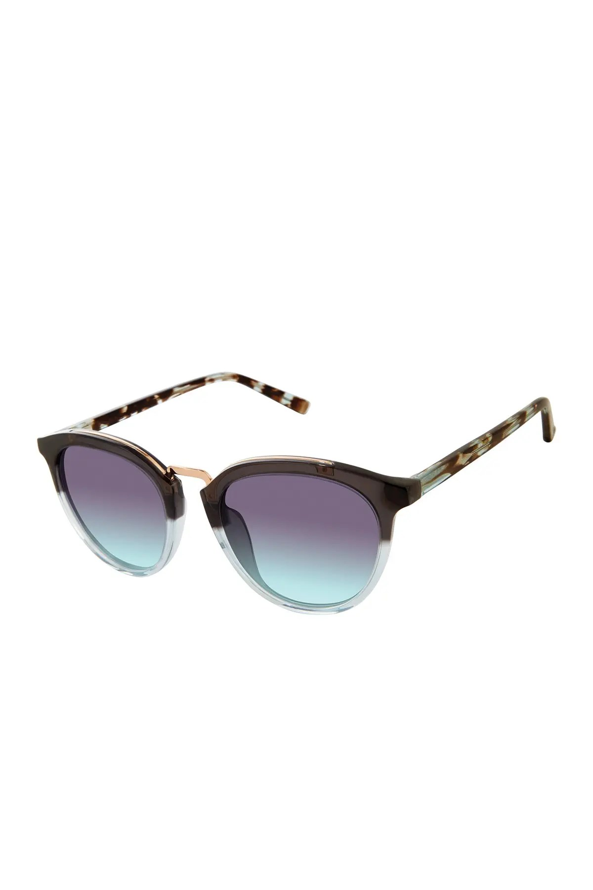 ted baker london 50mm round combination sunglasses nordstrom rack