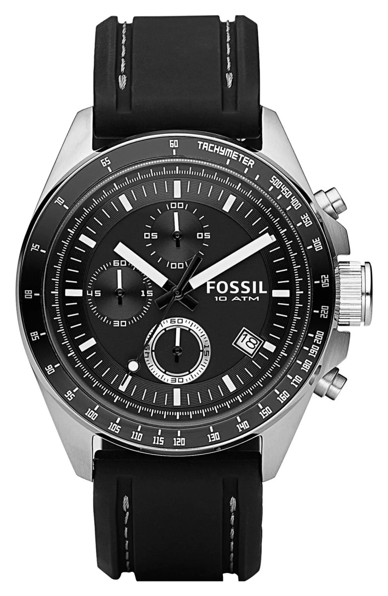 Fossil Chronograph Tachymeter Watch. 44mm | Nordstrom