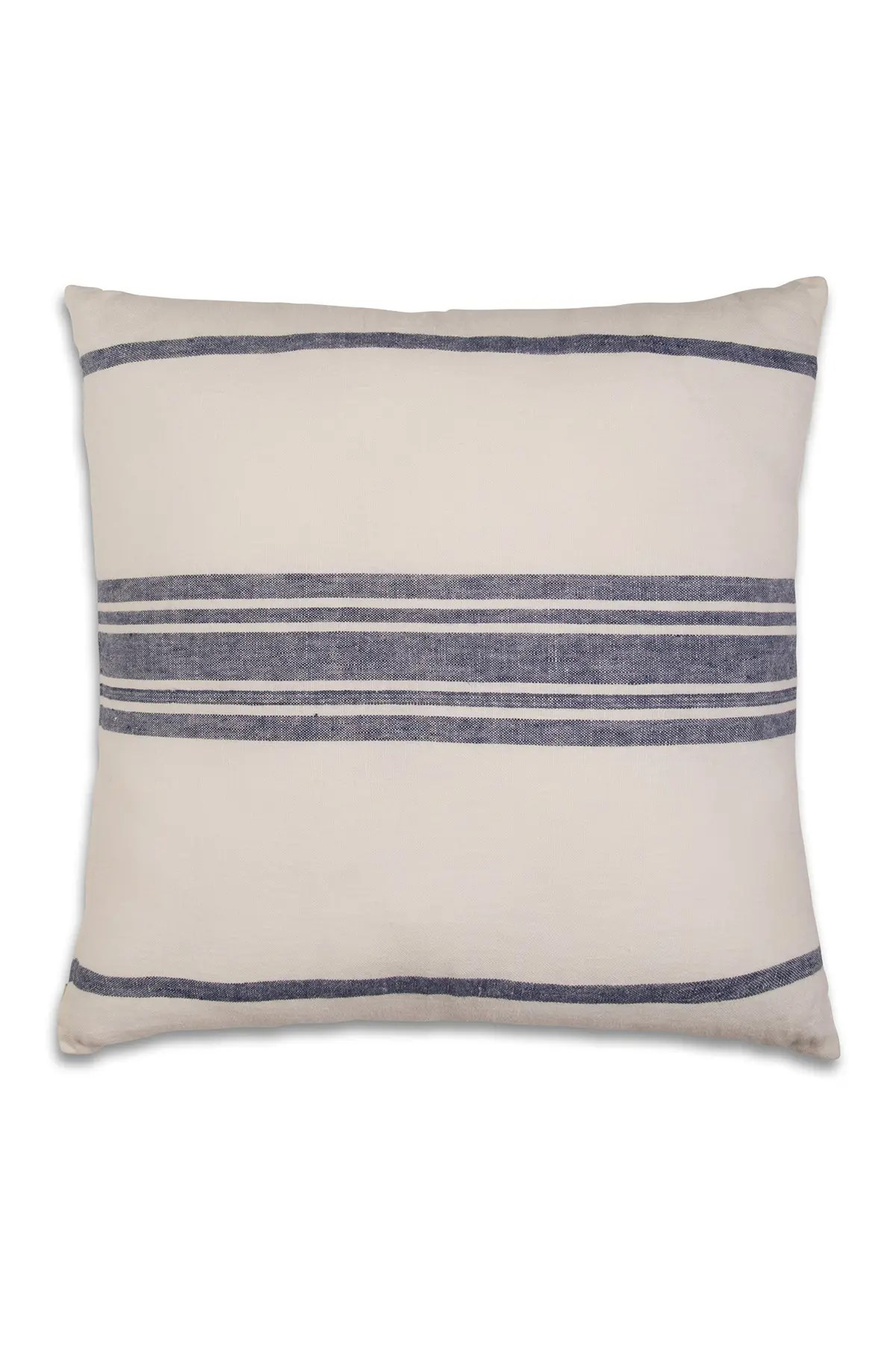 home essentials and beyond navy white linen stripe pillow 18 x 18 nordstrom rack