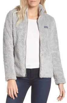 Los Gatos Fleece Jacket, Main, color, DRIFT GREY