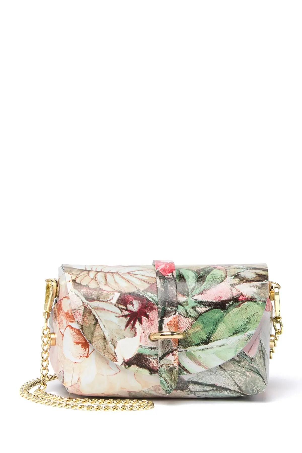 sofia cardoni floral leather clutch nordstrom rack