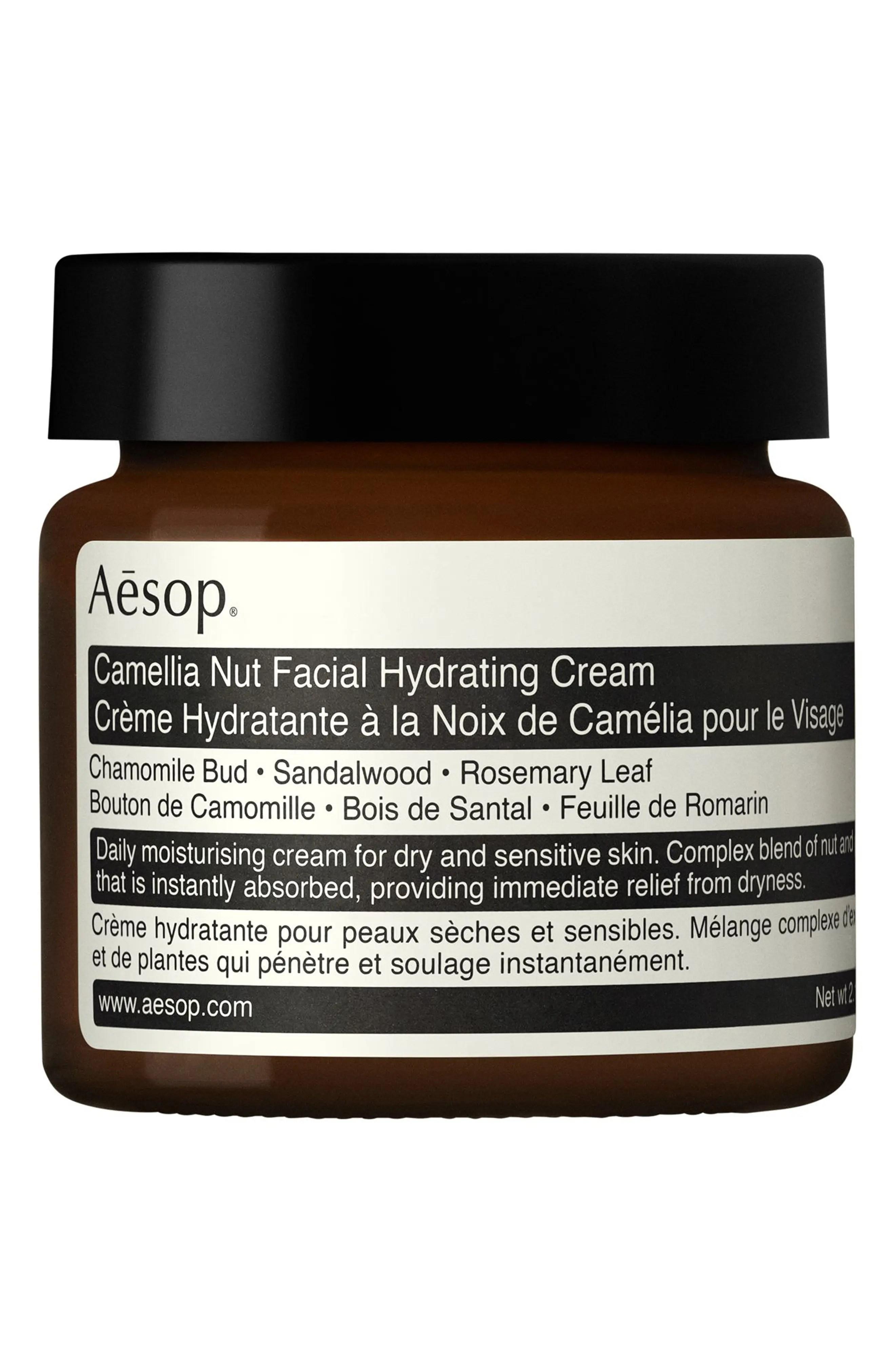 AESOP Camellia Nut Facial Hydrating Cream, Main, color, NONE