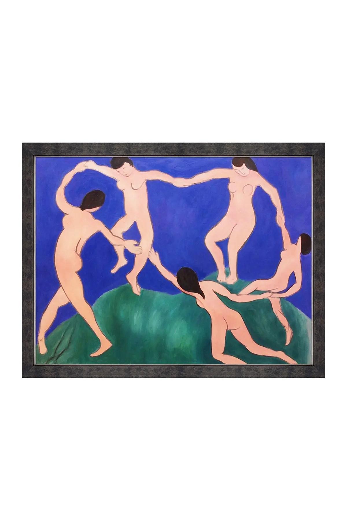 La Danse (matisse) : danse, (matisse), Overstock, Danse, Framed, Reproduction, Original, Painting, Henri, Matisse, 44