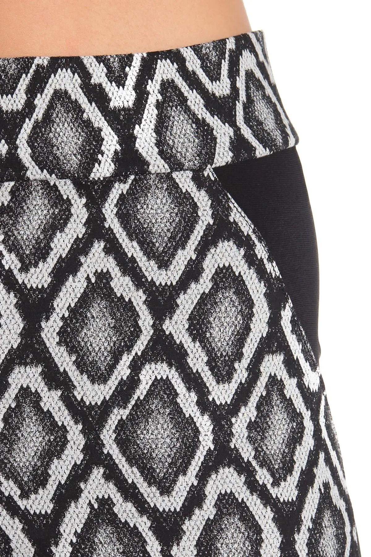 joseph ribkoff geometric printed straight leg pants nordstrom rack