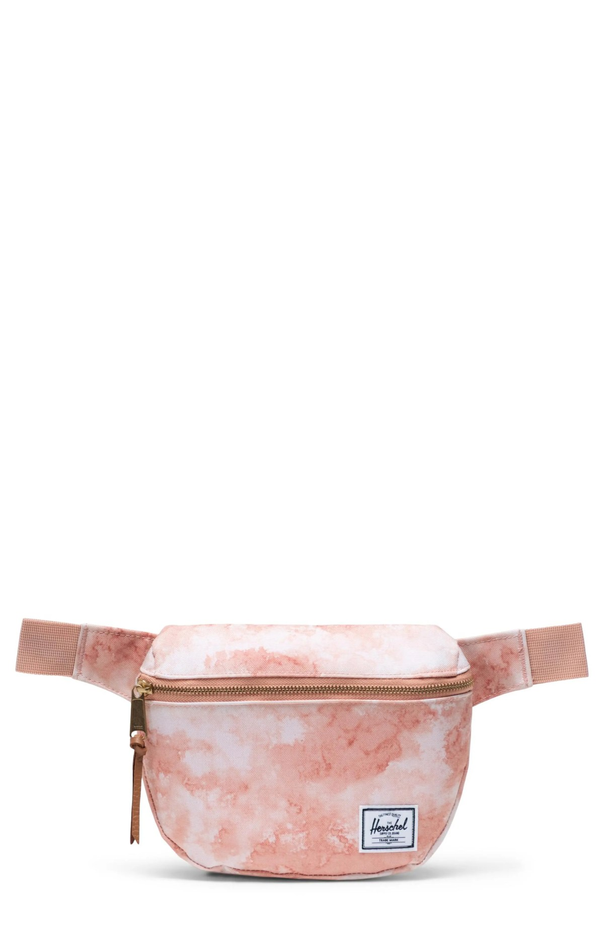 HERSCHEL SUPPLY CO. Fifteen Belt Bag, Main, color, PASTEL CLOUD PAPAYA