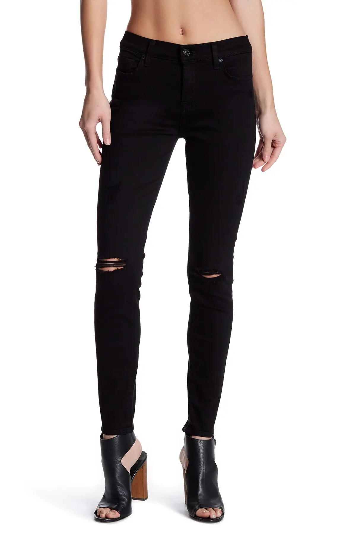 7 for all mankind gwenevere distressed skinny ankle jeans nordstrom rack