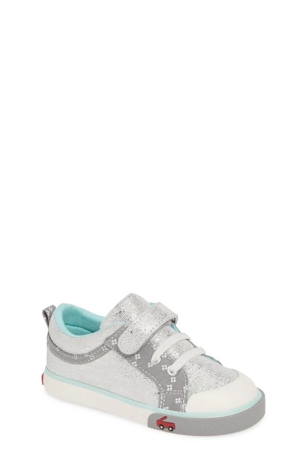 Kristin Sneaker, Main, color, SILVER
