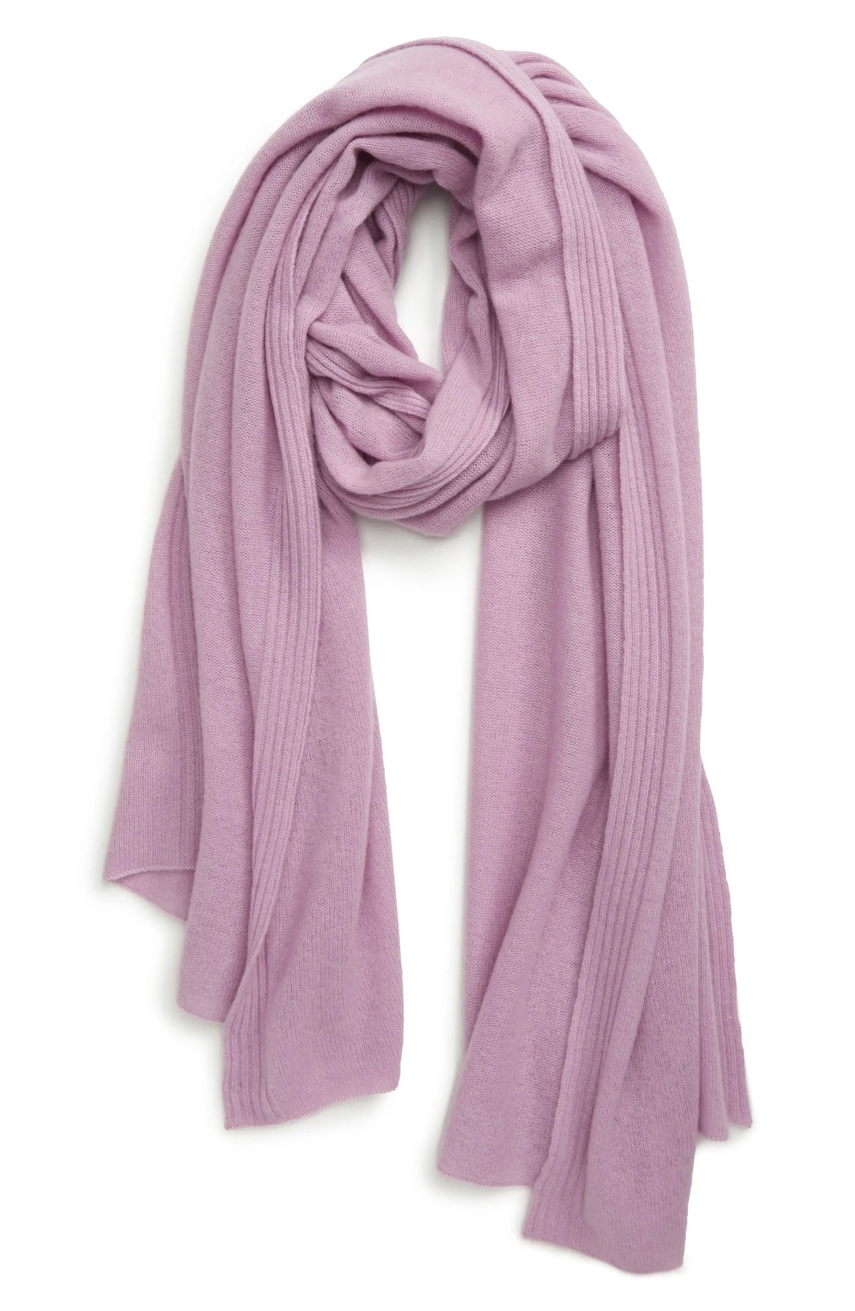 HALOGEN<SUP>®</SUP> Cashmere Scarf, Main, color, PURPLE HERB