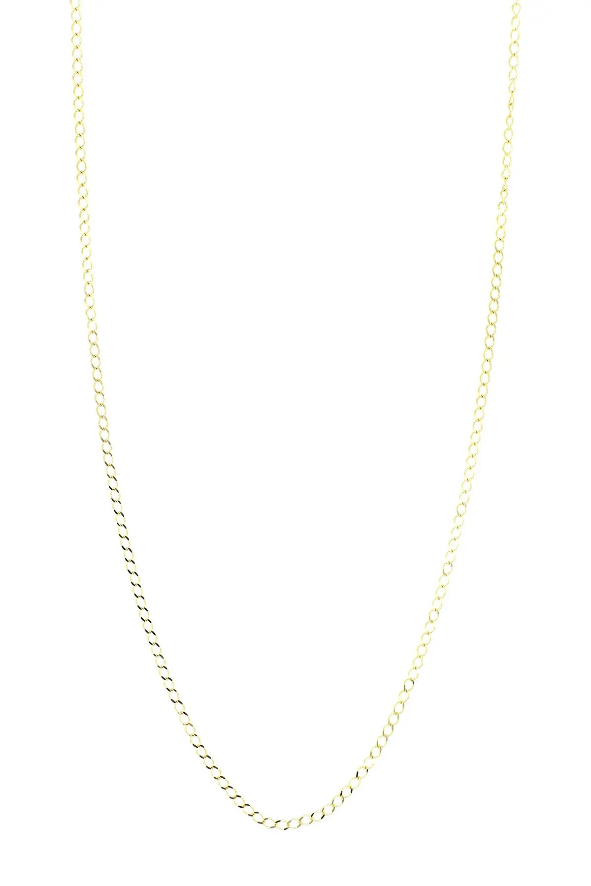 bony levy 14k yellow gold 18 shiny flat chain necklace nordstrom rack