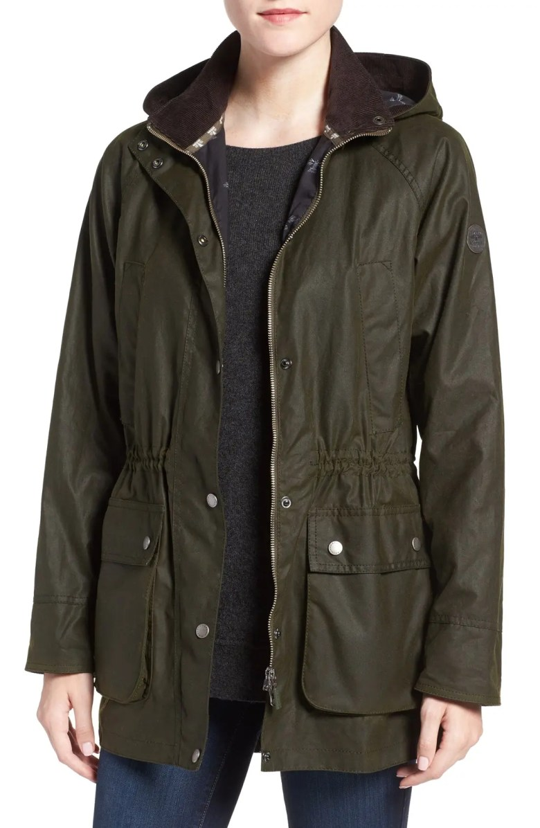 barbour brae waxed cotton