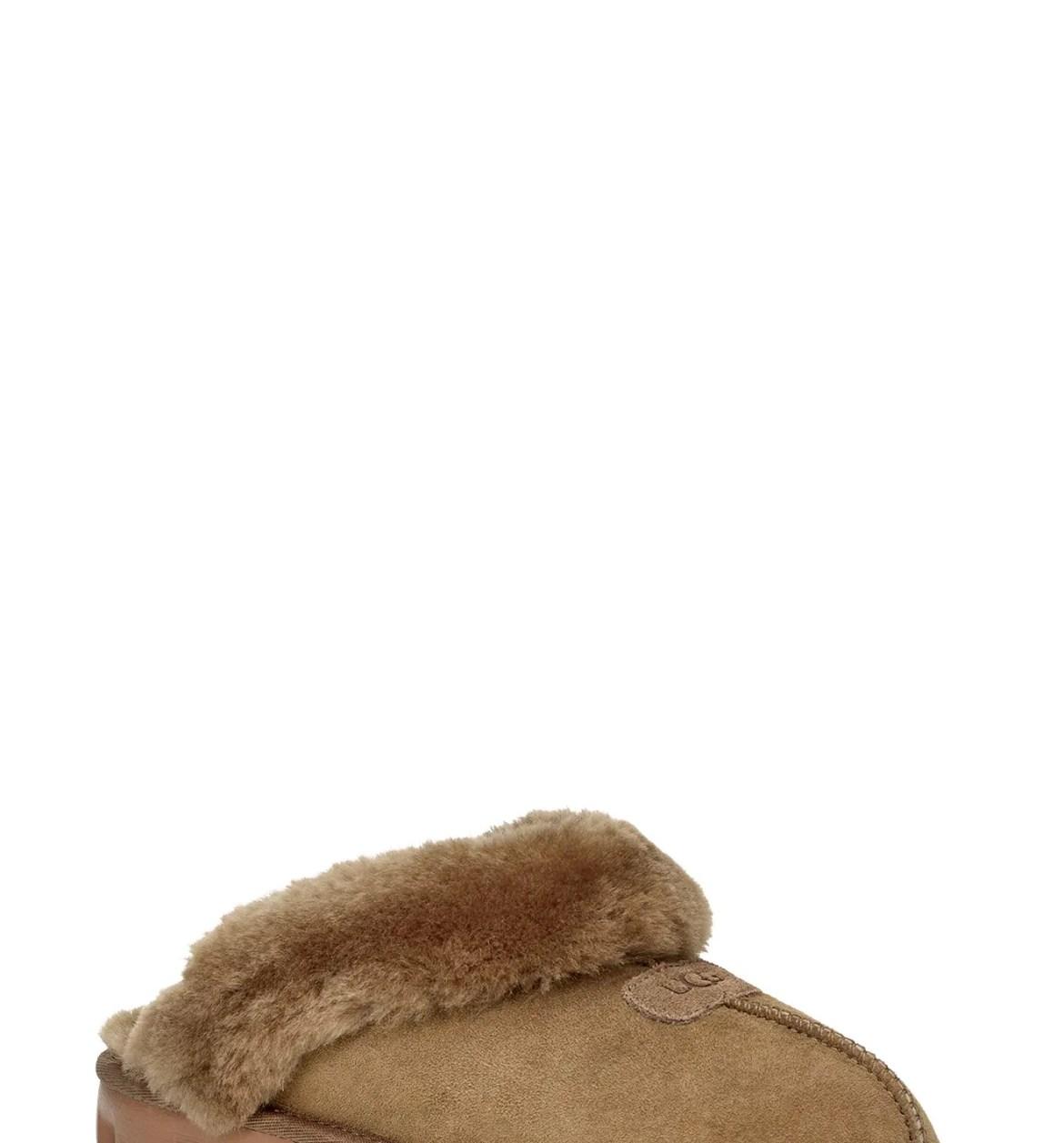 UGG<SUP>®</SUP> Genuine Shearling Slipper, Main, color, EUCALYPTUS SPRAY