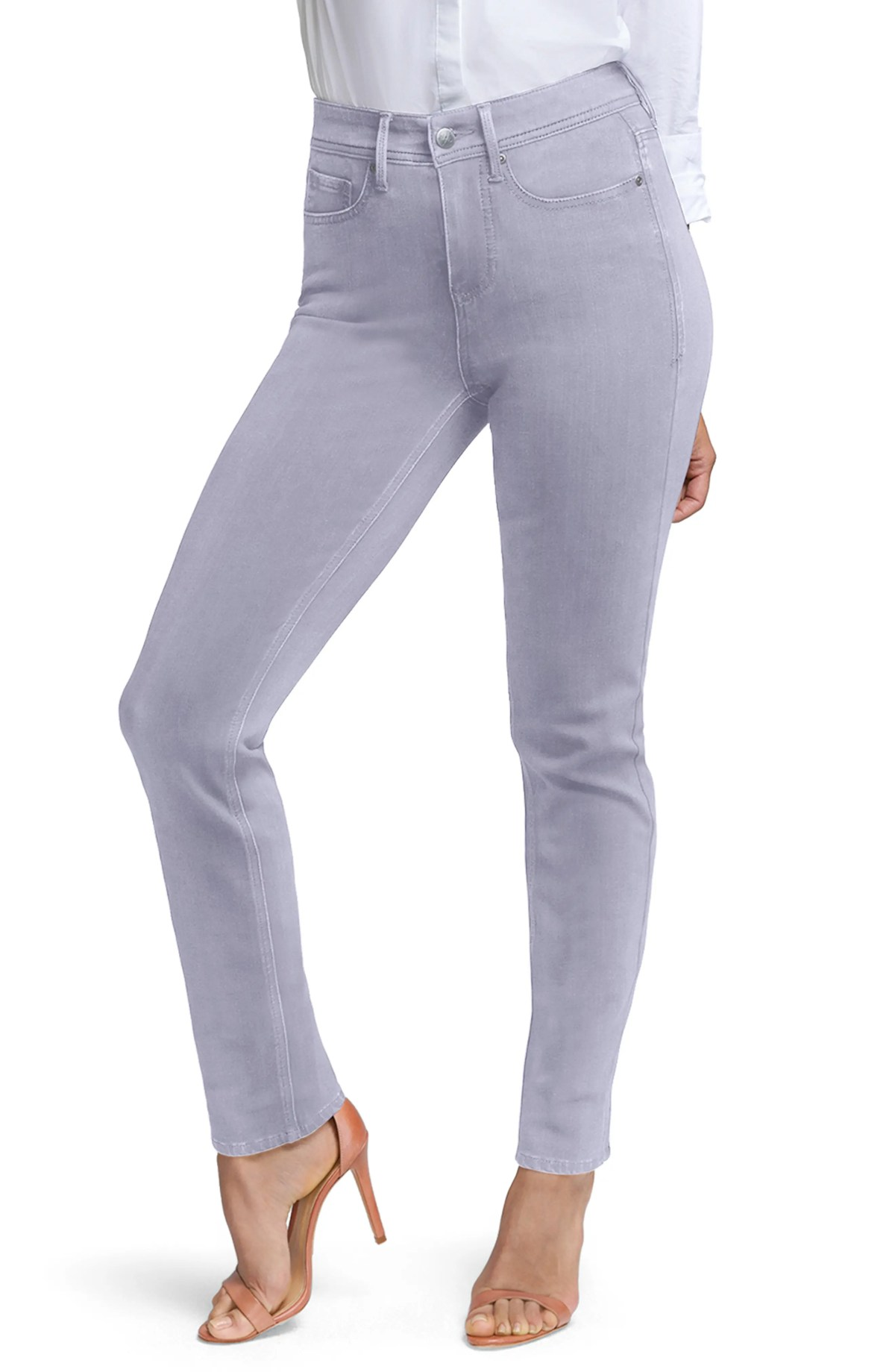 CURVES 360 BY NYDJ Slim Straight Leg Ankle Jeans, Main, color, MINERAL PIGMENT