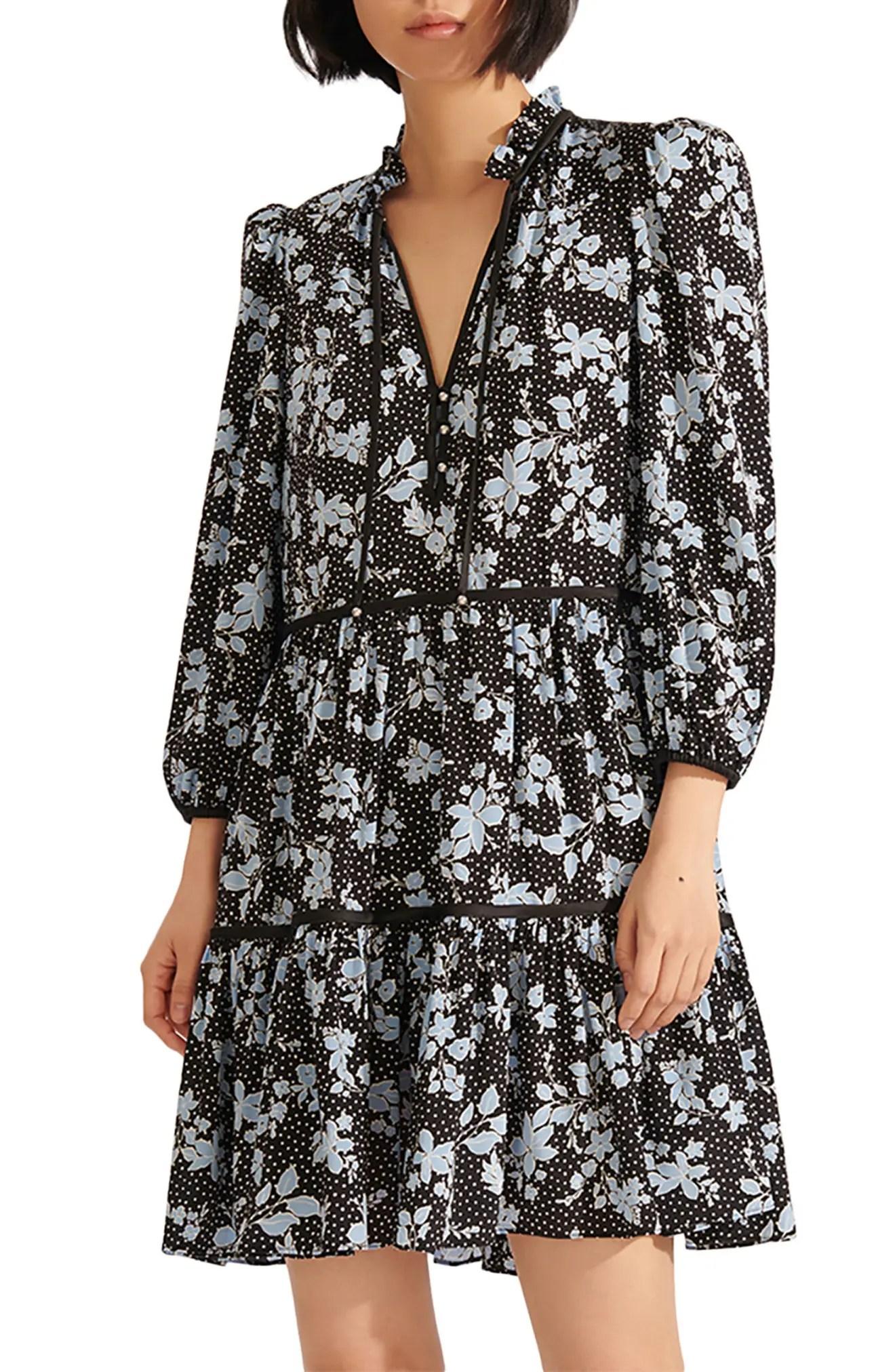 hawken long sleeve dress