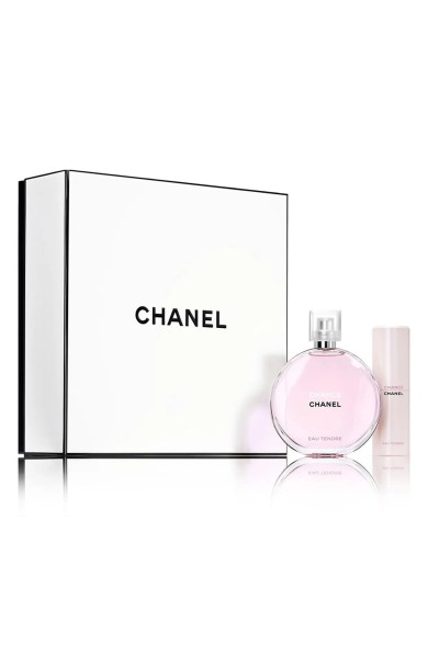 Image result for chanel chance travel set