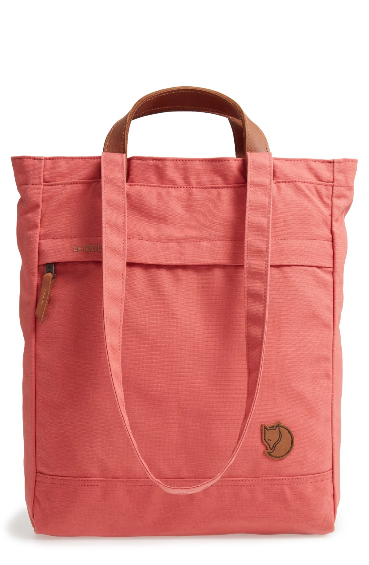 'Totepack No.1' Water Resistant Tote, Main, color, DAHLIA