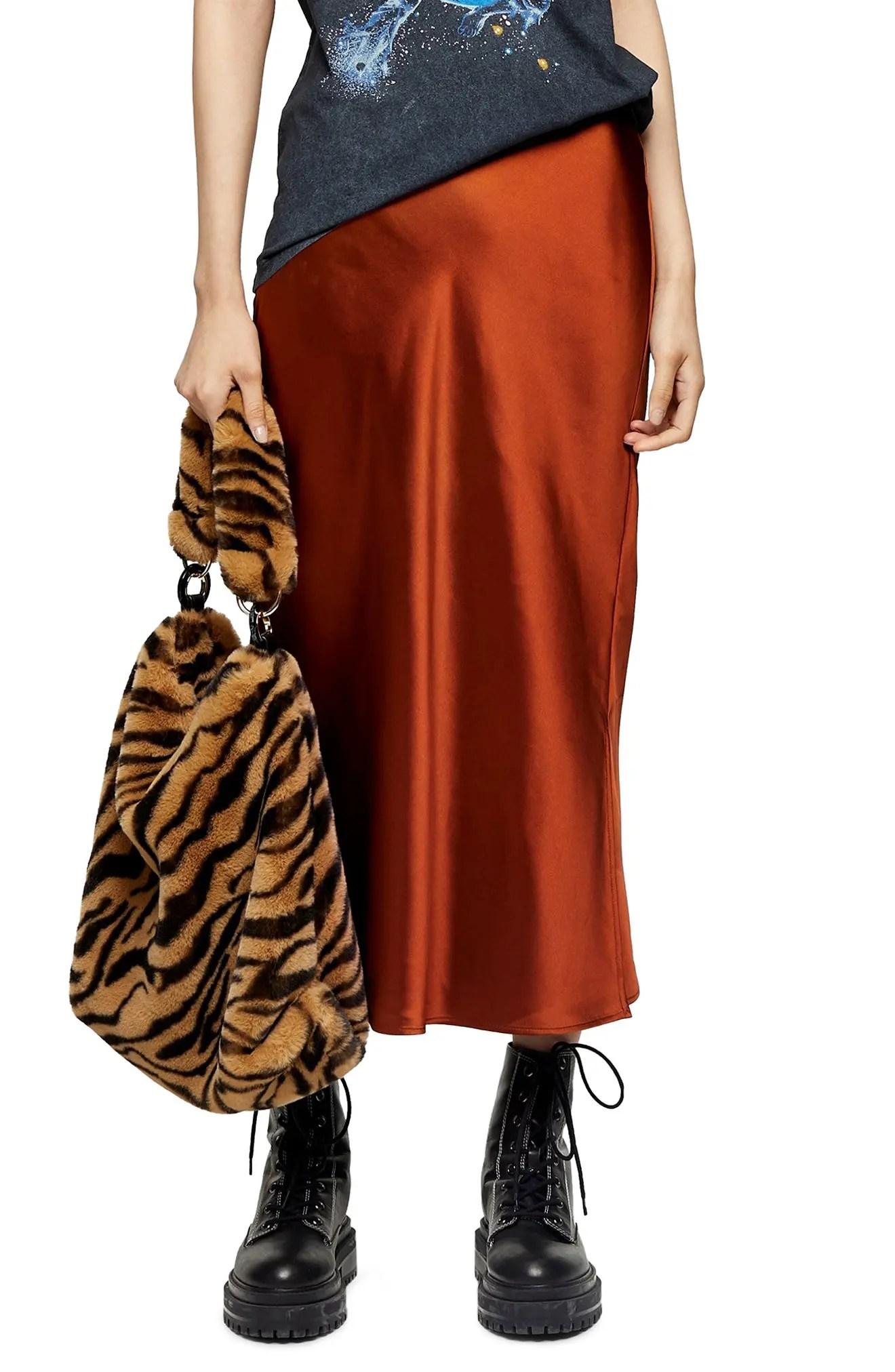 TopShop Slip Skirt