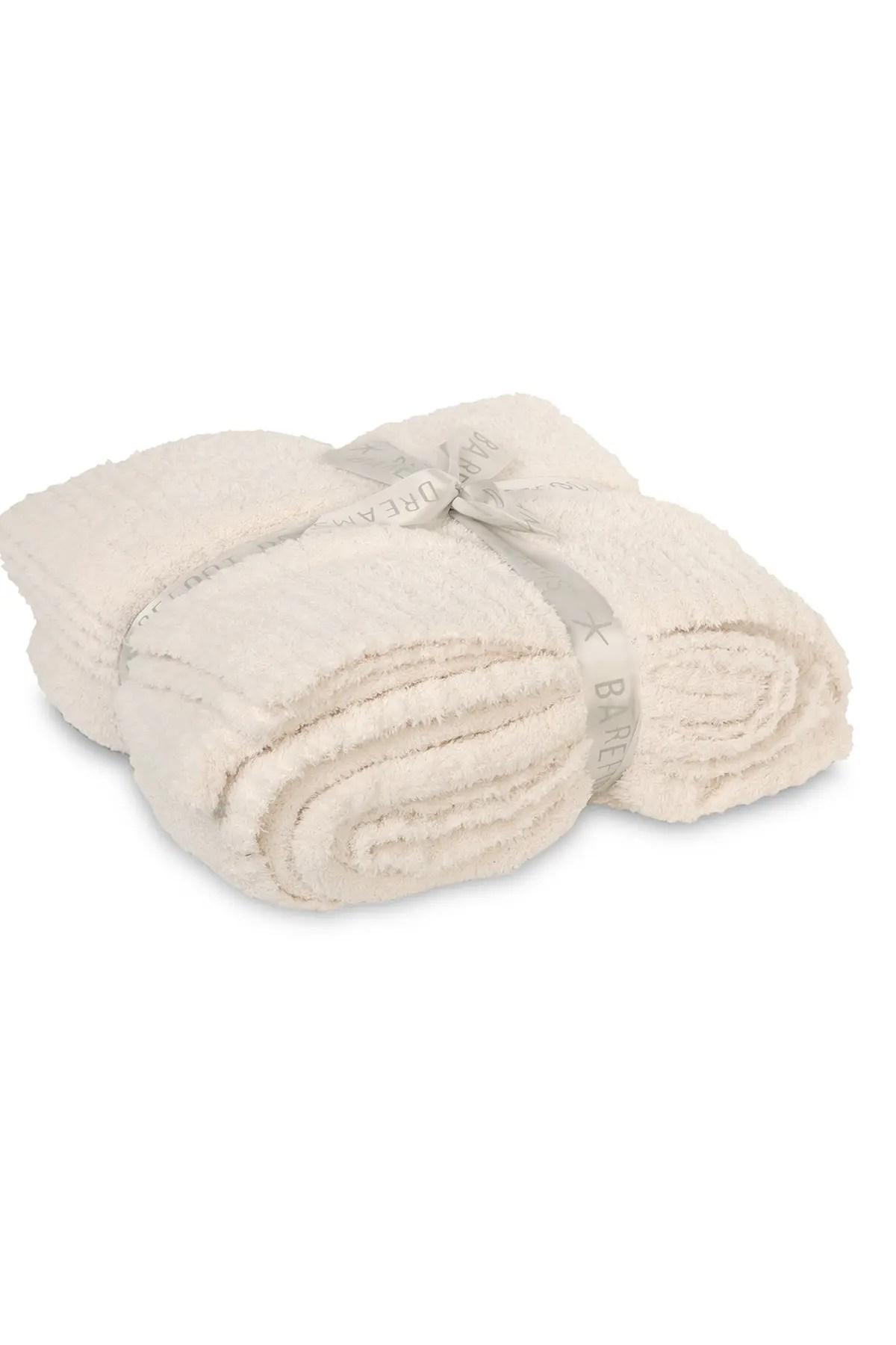 queen king rib knit blanket