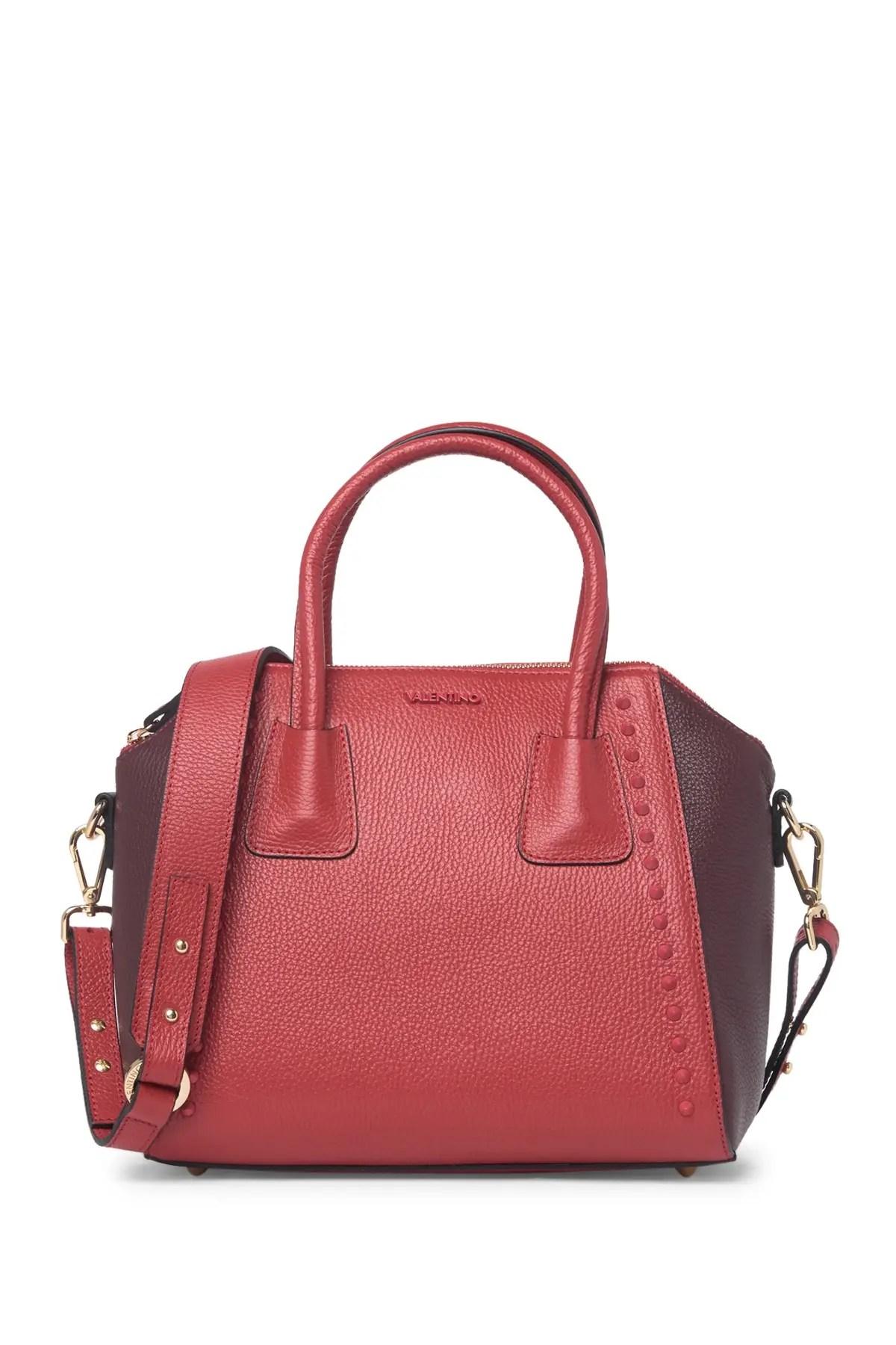 minimi leather satchel