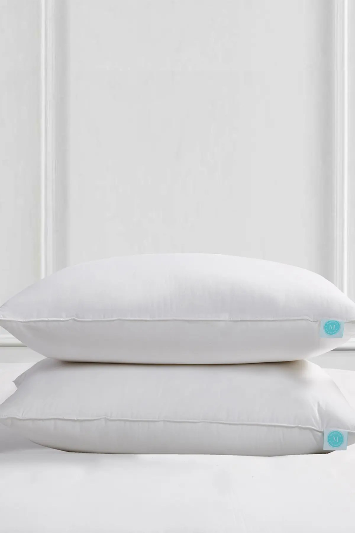 blue ridge home fashions martha stewart 240 thread count poly around feather down pillow standard queen set of 2 nordstrom rack