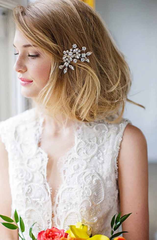 brides & hairpins 'caprice' jeweled hair comb | nordstrom